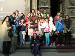Ispred Istorijskog muzeja